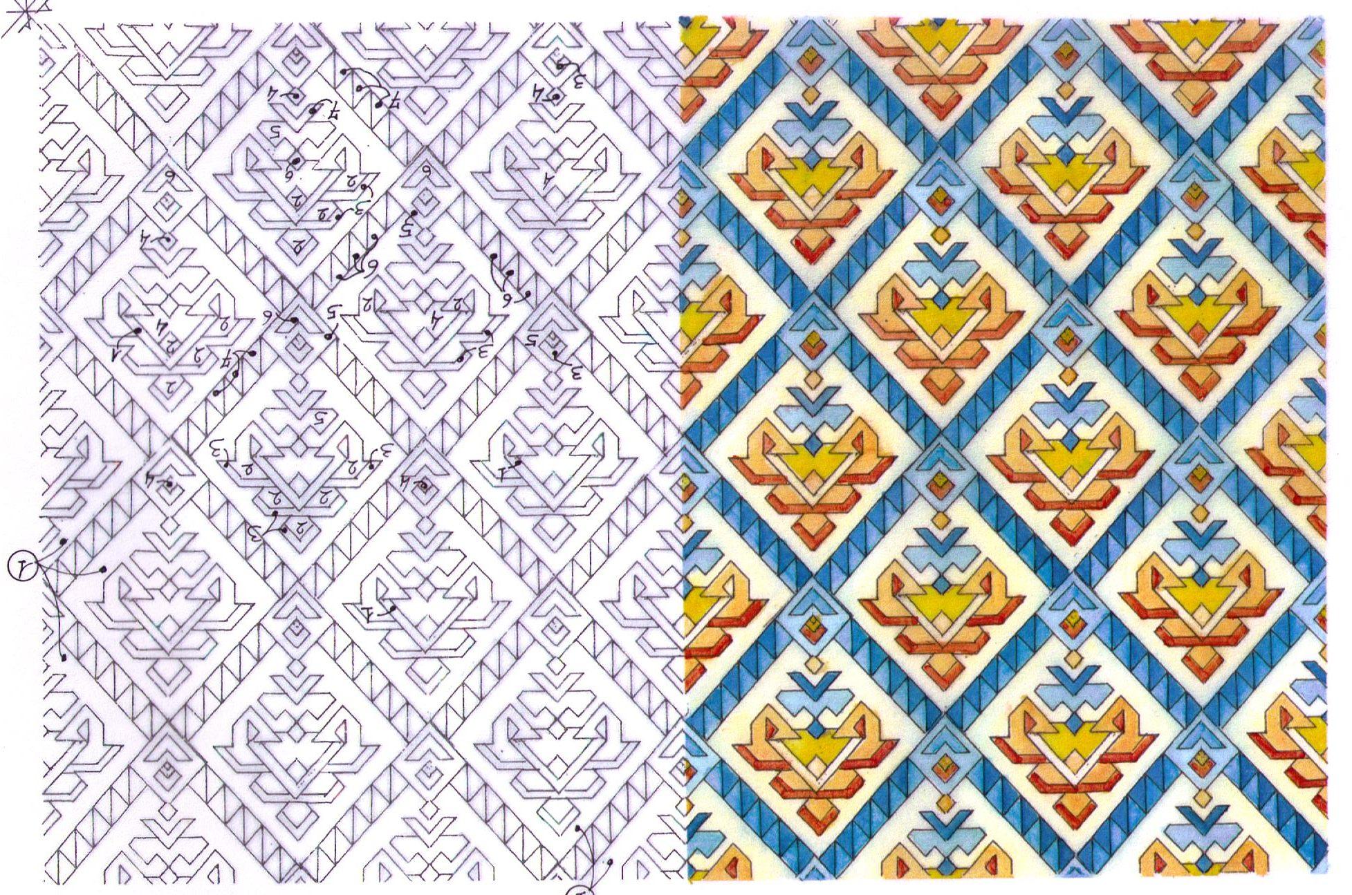 Pascale haincaud d coratrice et architecte d int rieure for Moquette geometrique